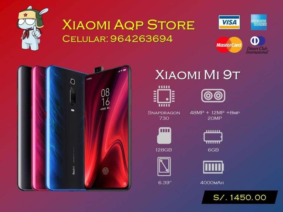 Xiaomi Mi9t 128gb Mi 9t Rojo Oferta
