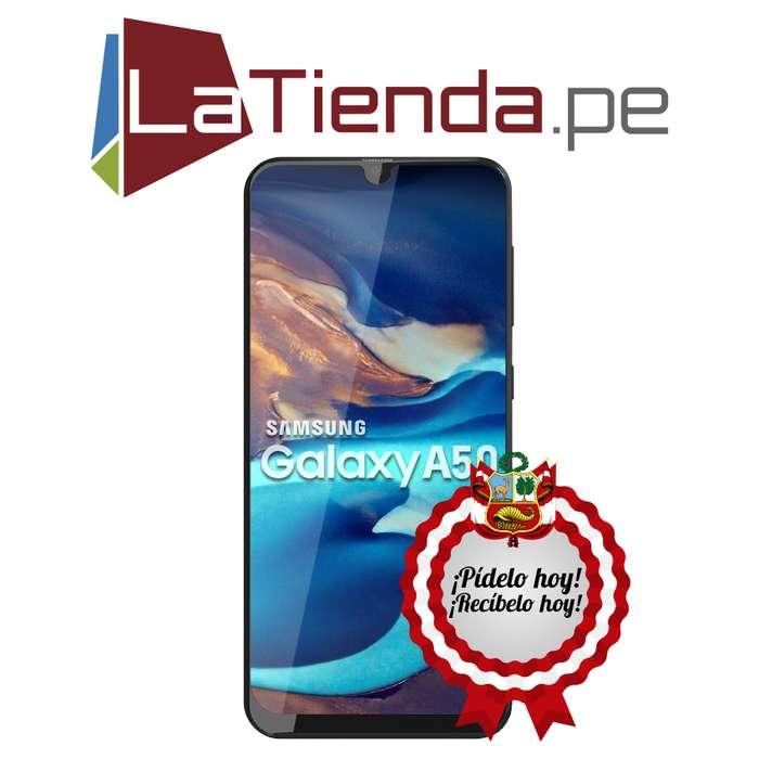 Samsung Galaxy A50 - 64GB de almacenamiento interno