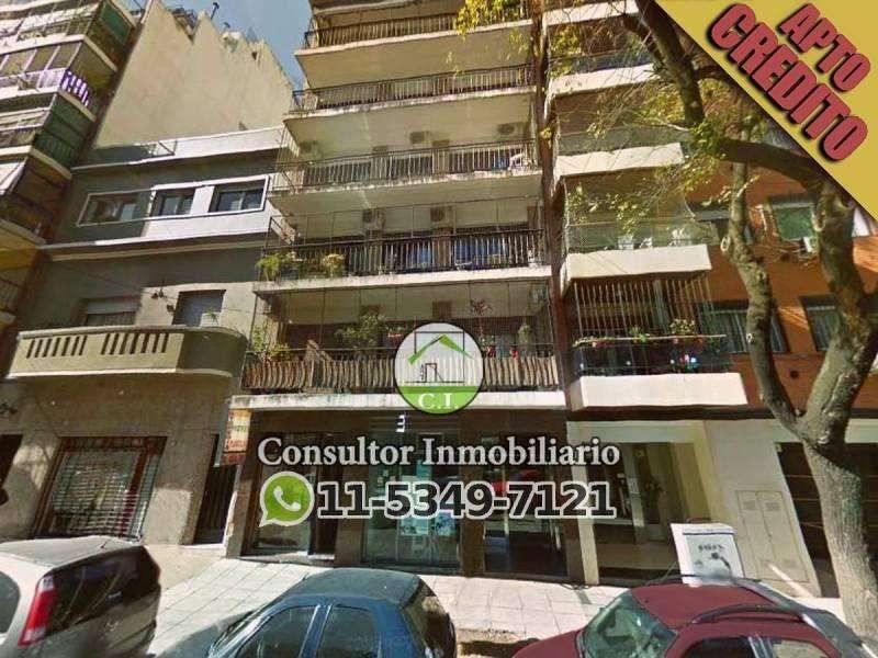 Departamento Dos Ambientes Apto Credito y de Bajas Expensas en Villa Crespo