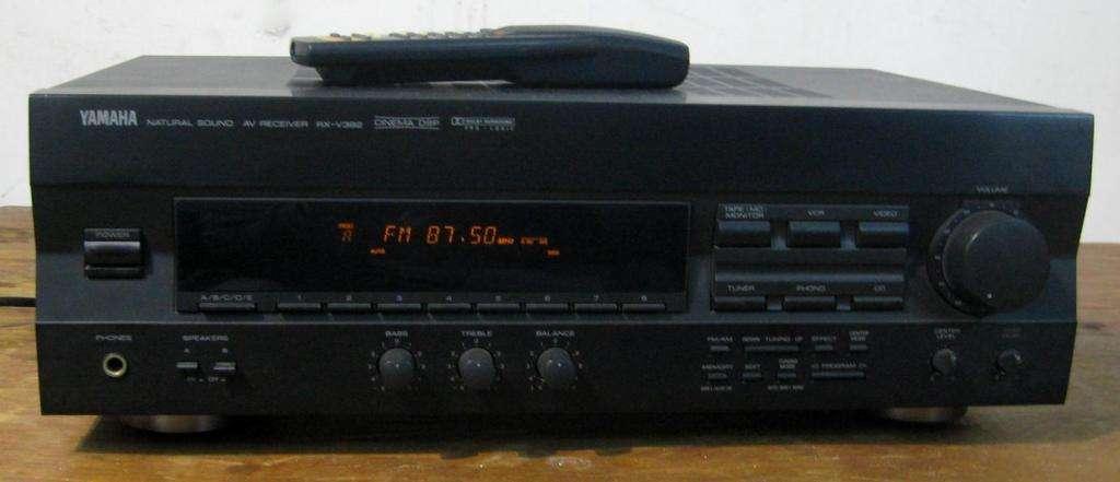 Sintoamplificador Receiver Yamaha Rxv392 Phono En S Isidro