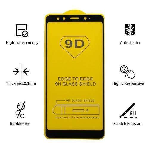 Micas completas calidad 9D para Samsung A10 y muchos modelos más...