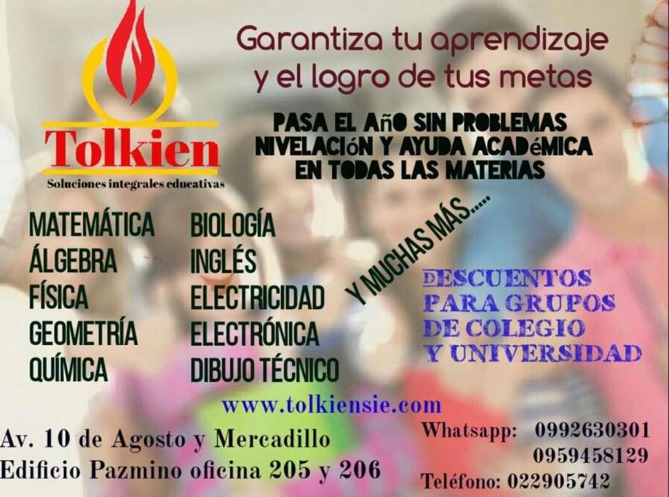 Clases Contabilidad Mate Física Química Geometría Inglés Estadística Colegio y universidad NO a domicilio Quito.