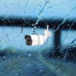 Camara Seguridad Exterior Vigilancia Agua Ip WIFI Panoramica FULLHD 360 grados CCTV