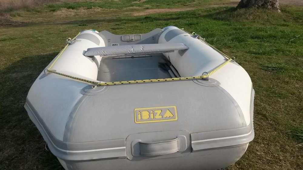 bote gomon con motor 5 hp