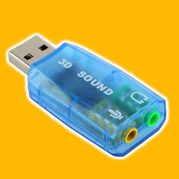 Tarjeta Sonido 5.1 Usb Audio Y Microfono Externo