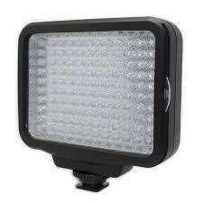 Luz Led 5009A para video calida y fria o dos al mismo tiempo con bateria y cargador y dos filtros.