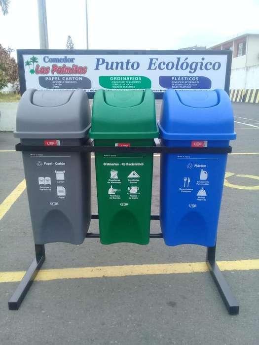 Estacion de Reciclaje de 35 Litros
