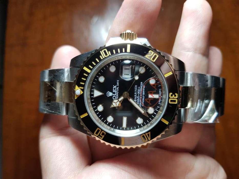 Reloj <strong>rolex</strong> Submariner Date 40 Mm Combinado Automático