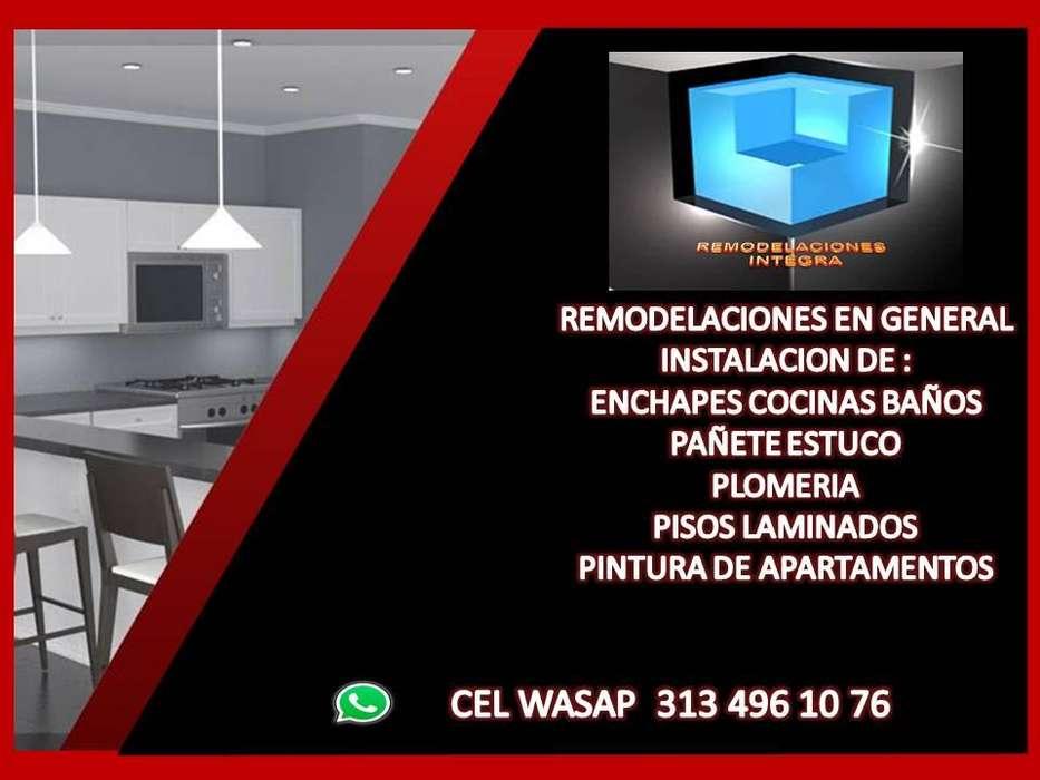 REFORMAS BAÑOS COCINAS CEL WASAP 313 496 10 76