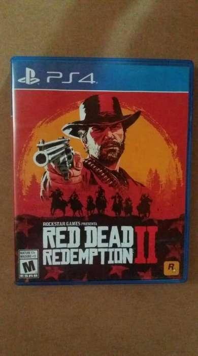 juego Sony PlayStation 4 batman return to arkham, red dead ll, fifa1