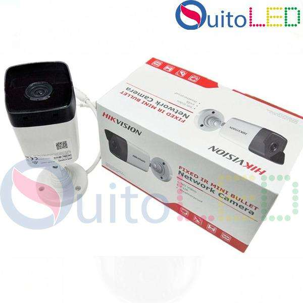 Camara Ip Tubo Hikvision Modelo Ds-2cd1021-i De 2MP Poe Exterior Quitoled