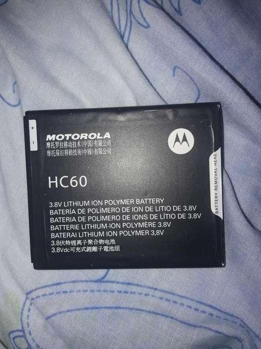 Bateria de Moto C Plus Nueva sin Uso