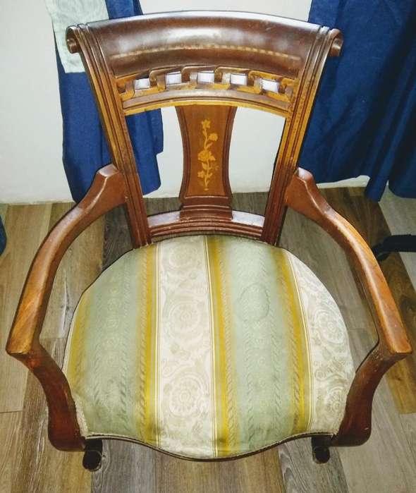 <strong>silla</strong> Isabelina Madera de Cedro