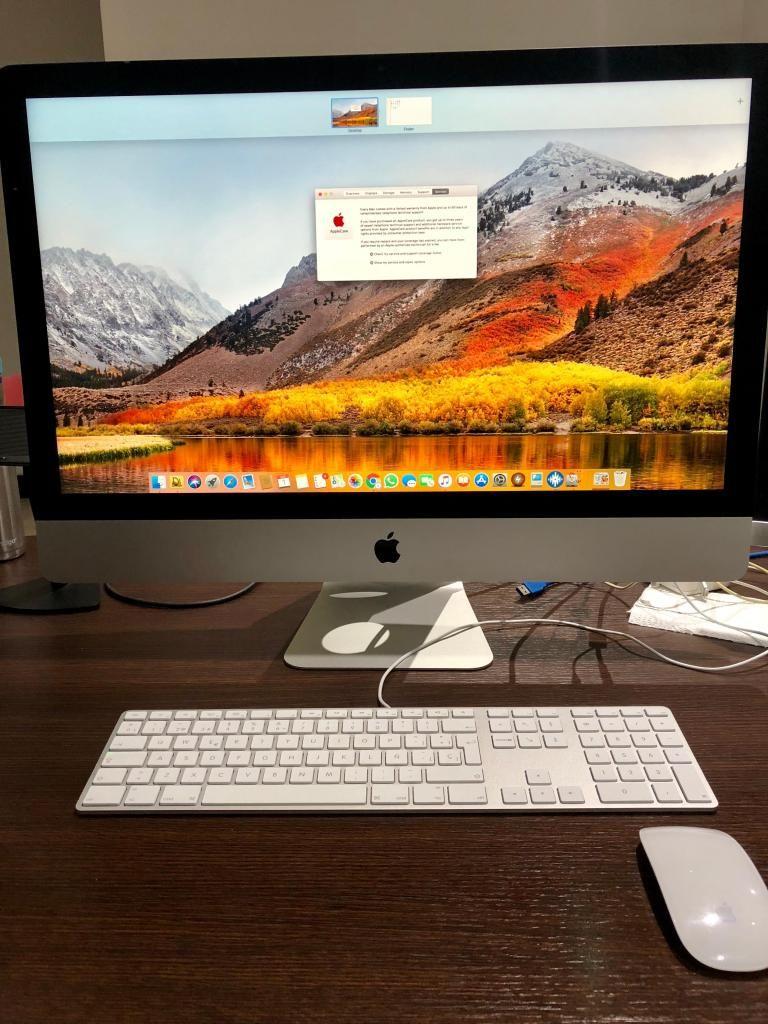 iMac 27 Core i5 3.2 GHz 8GB 1TB 10/10 en caja