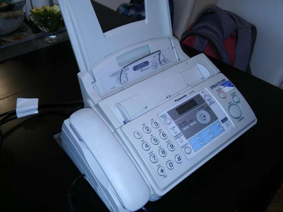 Teléfono <strong>fax</strong> Panasonic Kx Fp703 Charlable!