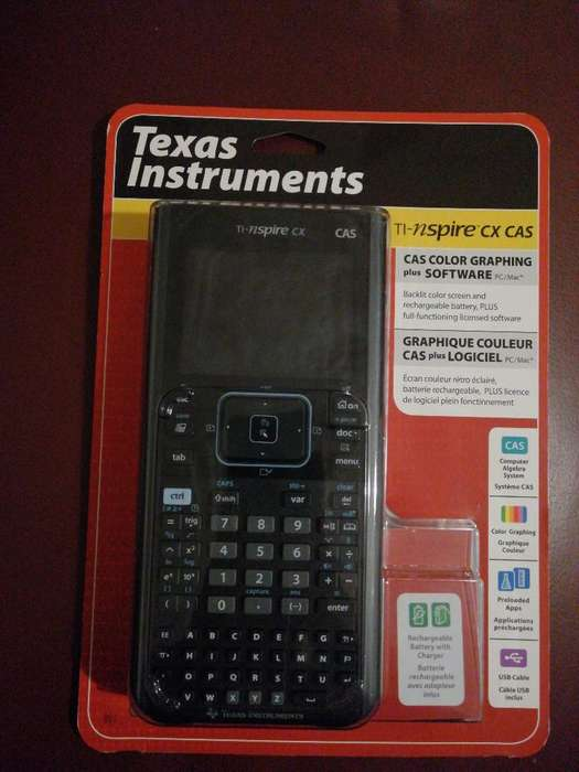 Calculadora Texas Instruments Cad