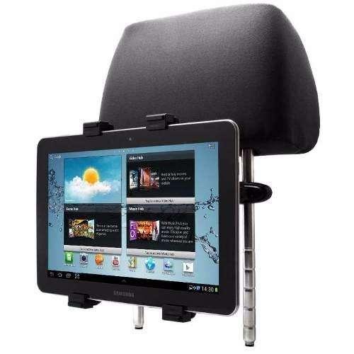 Soporte Tablet 7 A 10 Para Autos En Apoyacabezas
