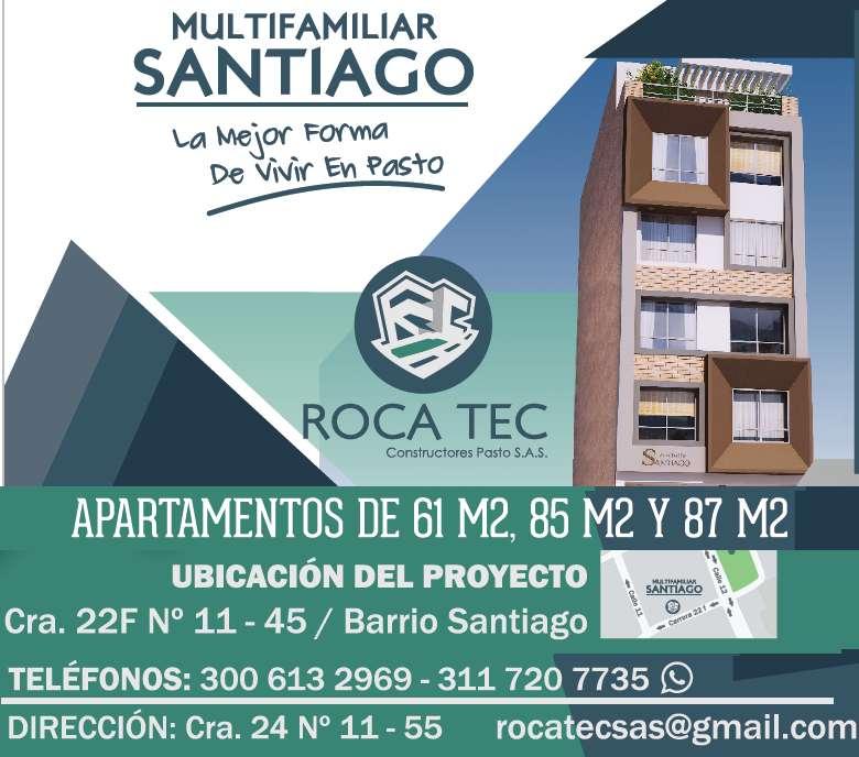 Apartamentos Multifamiliar Santiago, en el centro de Pasto Nariño