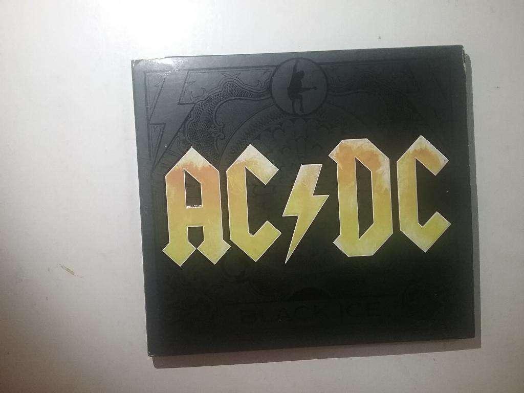Cd Acdc Black Ice