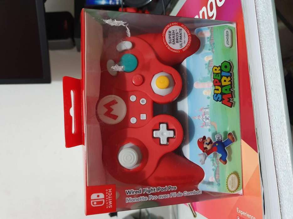 Controles Nintengo Switch Game Cube Super Smash