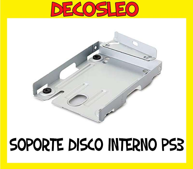 Soporte De Disco Rigido Ps3 Super Slim 12gb CARRY DISC * Leo