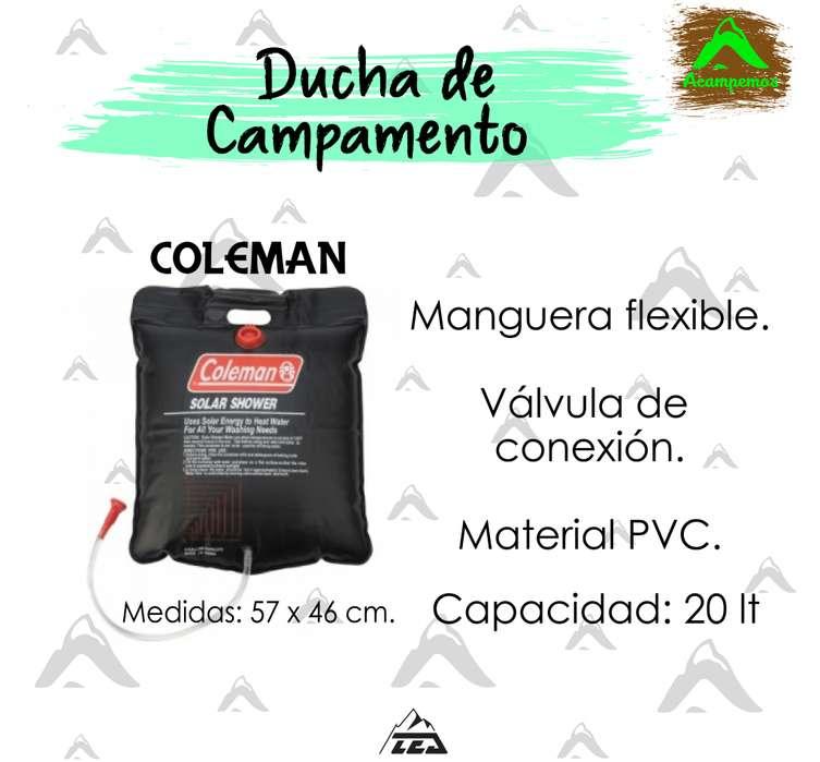DUCHA DE CAMPAMENTOS PORTÁTIL COLEMAN