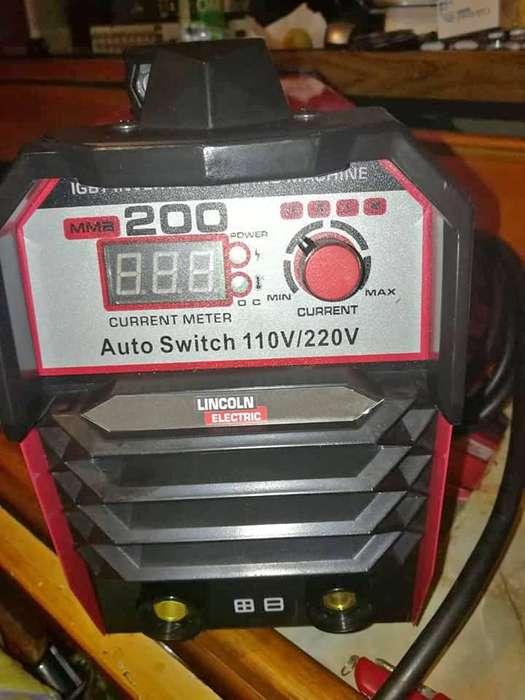 Equipo De Soldadura Lincoln Inversor 200 Amperios 110/220