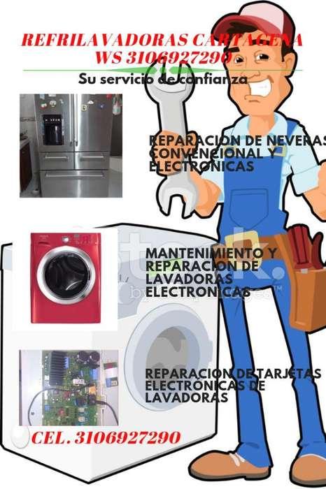 Servicio Tecnico en Lavadoras Y Neveras