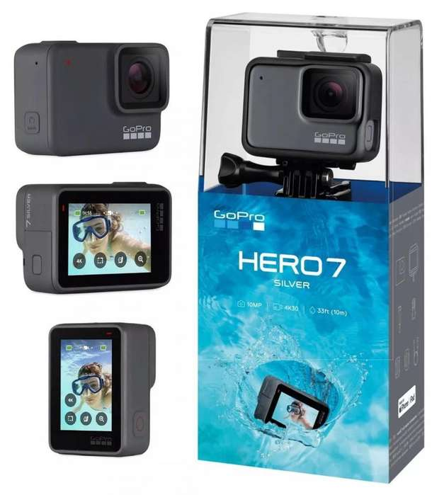 Gopro Hero 7 Silver - Sellada - Local