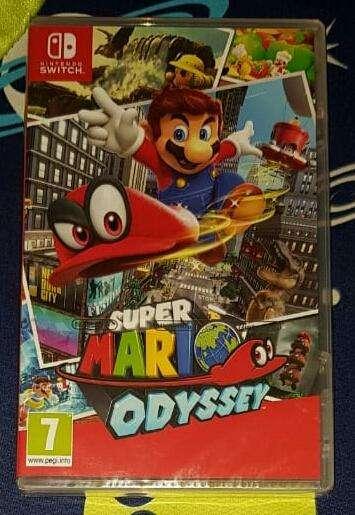 Super Mario Odyssey Switch Sellados