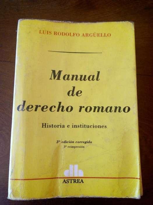 Manual de Derecho Romano 3ra Edición