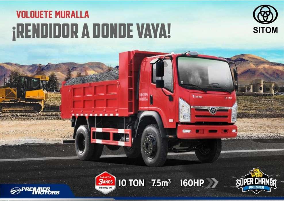 Volquete 7.5M3 SITOM 160HP Tolva SEMIROQUERA Modelo 2018