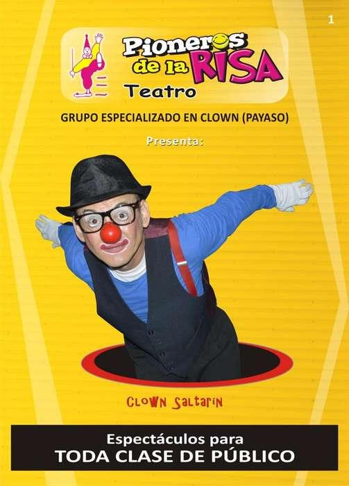 Payasos (Clowns), Magos, Recreación.