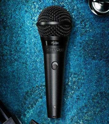 SHURE PGA58XLR Micrófono Vocal Semiprofessional