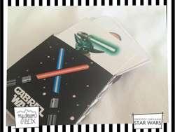 Souvenir Juego Cartulina Memotests Cumple Star Wars Infantil Evento Personalizado