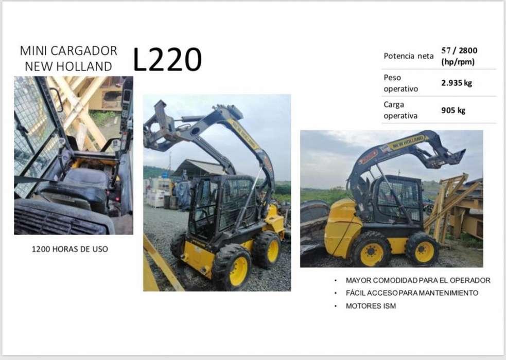 Mini Cargador-New Holland L220