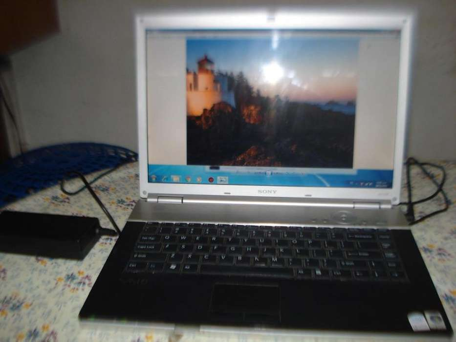 Notebook Sony Vaio Vgn F2290e Core 2 Duo Excelente Estad