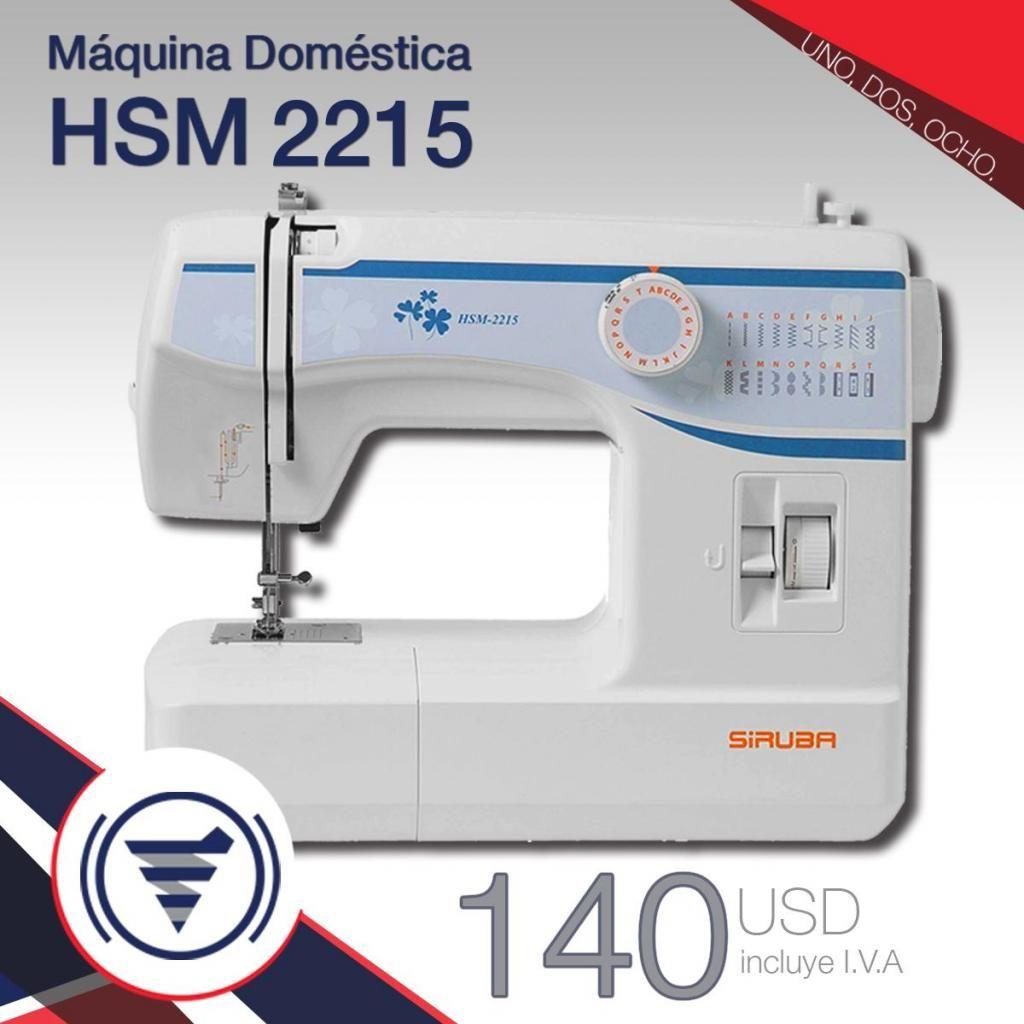Máquina Doméstica HSM-2215 ¡¡NUEVA!!