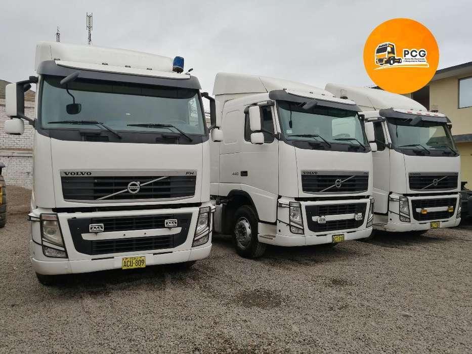 Tracto Volvo Fh 440hp Año 2014