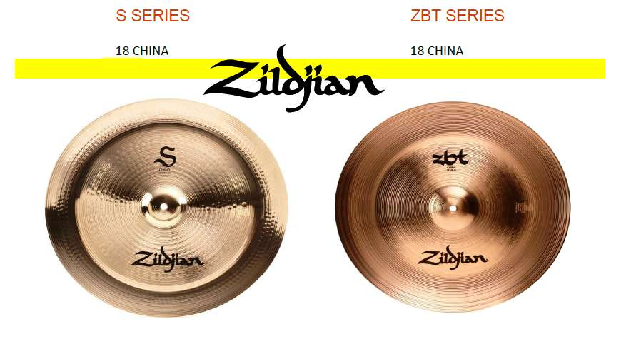 Platillos China Zildjian