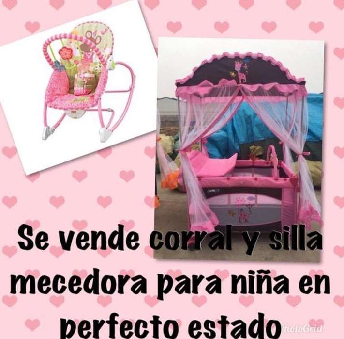 Corral Y Silla Mecedora