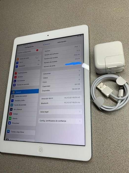 iPad Air 1 64GB WIFI BLANCO 6 MESE GARANTIA ESTADO 9/10 FACTURA LEGAL