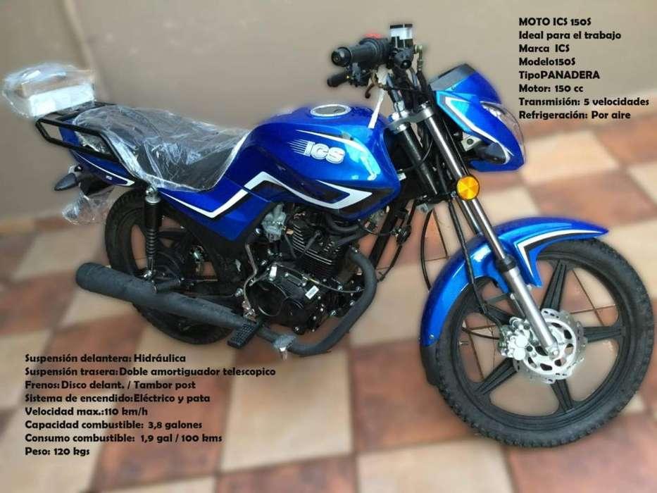 Moto Ics 150cc Panadera <strong>nueva</strong> 0 Km