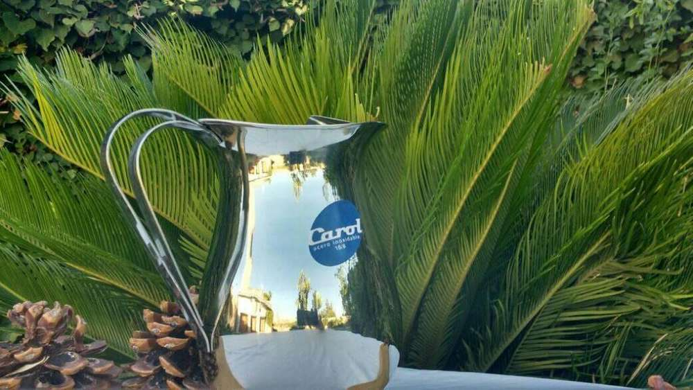 Jarra De <strong>mesa</strong> Acero Inoxidable 1.5 Litros Agua Vino Bar