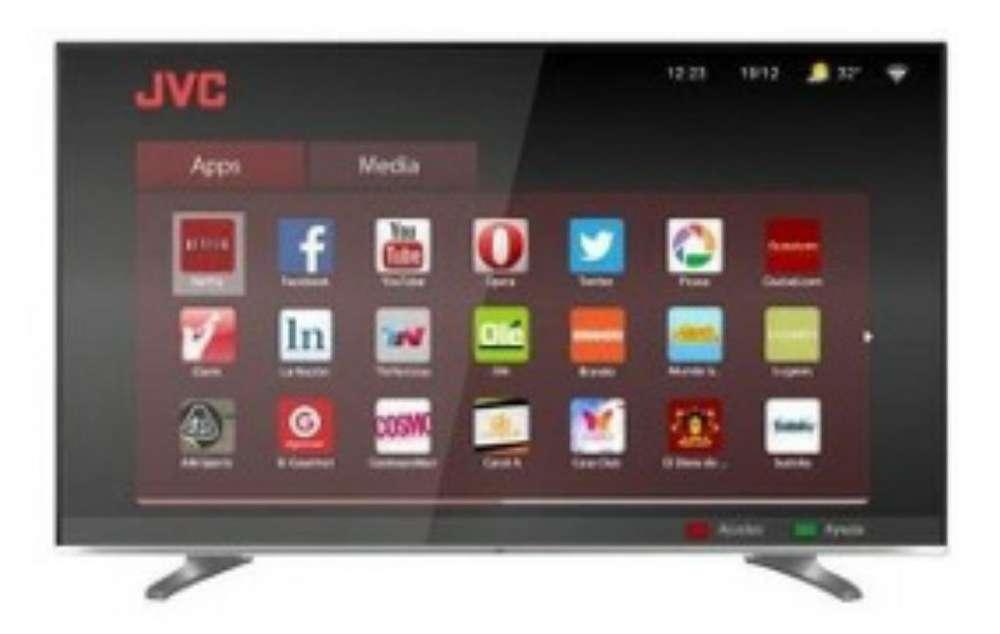 Smart Tv Jvc 50 Pulgadas 3d