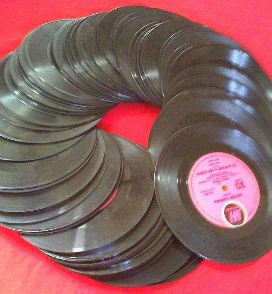 Lote de discos simples