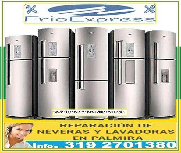 TECNICOS EXPERTOS EN NEVERAS Y LAVADORAS Cel. 319 2701380