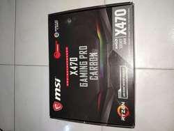 Motherboard Msi X470 Gaming Pro Crabon Socket Am4 Poco Uso