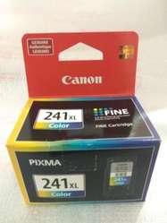 Nuevo Original Sellado Cartucho Canon 241xl Color 241 Color Impresora Tinta Continua Cartucho 241 XL