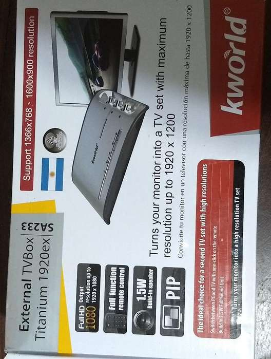 External Tvbox Tv Kworld